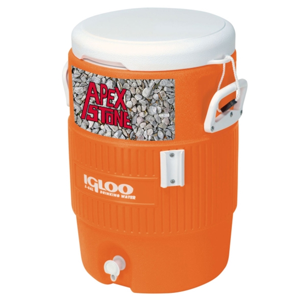 5 Gallon Beverage Jugs, Customized With Your Logo!
