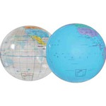 Customized Inflatable Globe Beach Balls