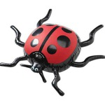 Custom Imprinted Inflatable Lady Bug Animal Toys
