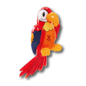 Custom Printed Inflatable Parrot Animal Toys