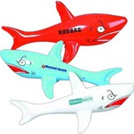 Custom Printed Inflatable Shark Animal Toys