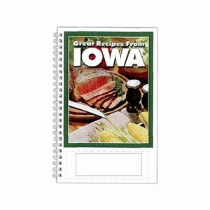 Custom Printed Iowa State Cookbooks