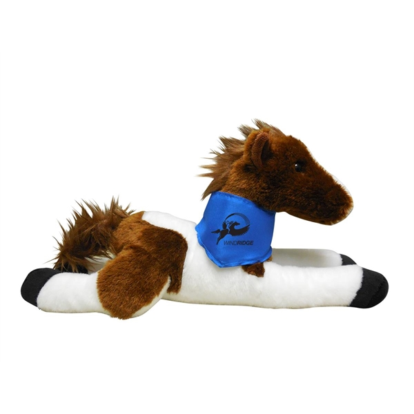 Horse Mascot Plush Stuffed Animals, Customized With Your Logo!