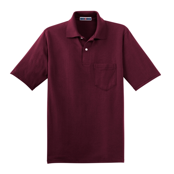 Mens Jerzees Golf Polo Shirts, Embroidered With Your Logo!