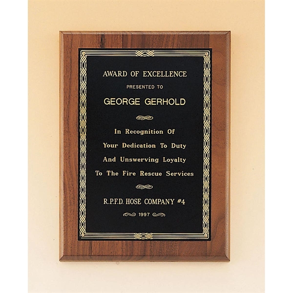Custom Engraved Airflyte Wooden Plaque Awards