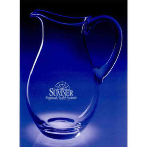 Custom Printed Julia Pitcher Crystal Gifts