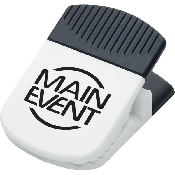 1 Day Service Magnetic Memo Clips with Pen Holders, Custom Decorated With Your Logo!