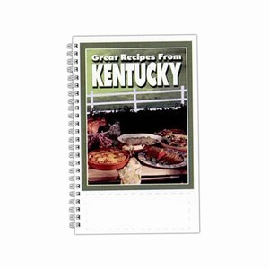 Custom Printed Kentucky State Cookbooks