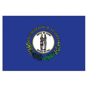 Custom Printed Kentucky State Flags