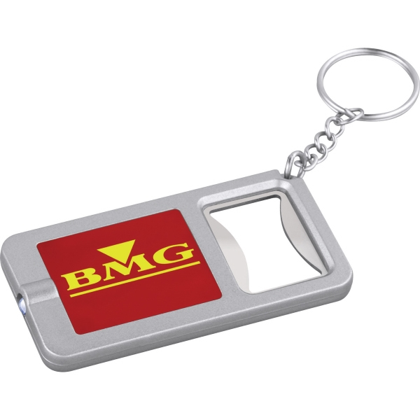 3 Day Service Bottle Openers with Keylights, Custom Designed With Your Logo!