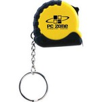 Custom Printed Keychain Tape Measure Tools