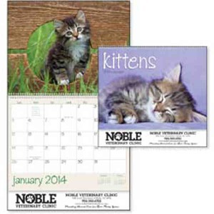 Custom Printed Kittens Appointment Calendars