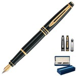 Customized Lacquered Barrel Fountain Waterman Pens
