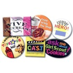Custom Printed Laminated Face Badges and Buttons