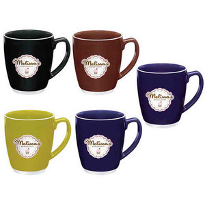 Custom Printed Large Bistro Mugs