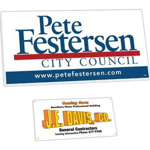 Custom Printed Large Corrugated Plastic Political Election Campaign Signs