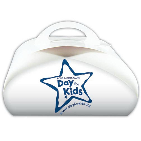 Custom Printed Dome Shaped Donut Boxes