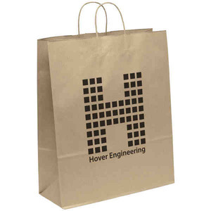 Custom Printed Large Environmentally Friendly Paper Bags