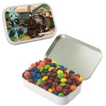 Custom Imprinted Large Rectangular Mint Tins