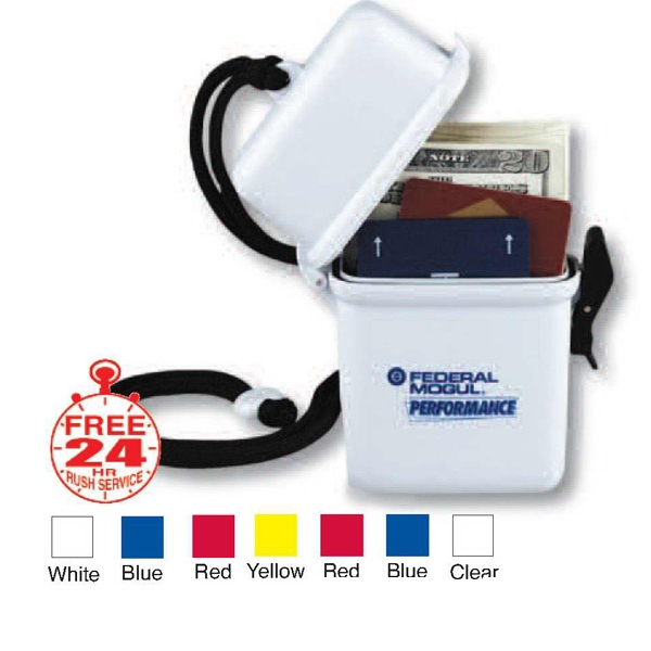 Custom Printed 3 Day Service Rectangular Shaped Waterproof Containers