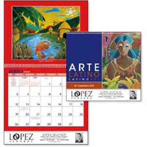 Custom Printed Latino Art Appointment Calendars
