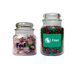 Custom Printed Candy Filled Apothecary Jars