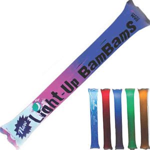 Custom Printed Light-up Bam Bam Noisemakers