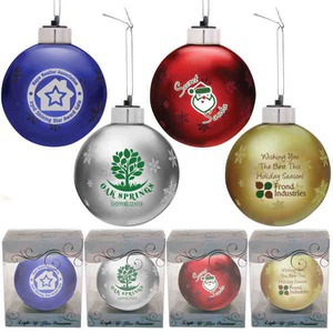 your holiday marketing with the light up glass ornament our 3 ornament ...