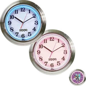 Light Up Wall Clocks Customized With Your Logo