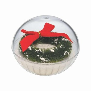 Custom Printed Lighted Holiday Crystal Globes