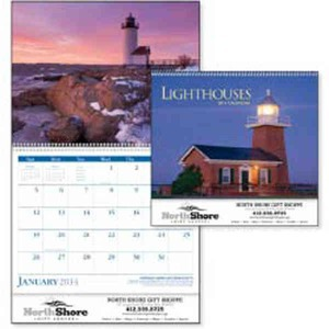 Custom Printed Lighthouses Appointment Calendars