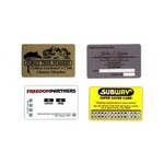 Custom Printed Lightweight Membership Cards