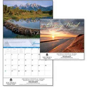 Custom Printed Living Word Nondenominational Appointment Calendars