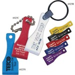 Custom Imprinted Lottery Ticket Scratcher Keychains