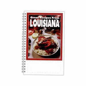 Custom Printed Louisiana State Cookbooks