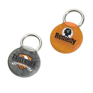 Custom Printed Made in the USA Round Twist Ease Keyholders
