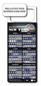 Custom Printed Magnetic Business Card Stock Baseball Schedules