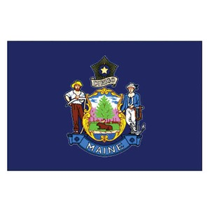 Custom Printed Maine State Flags