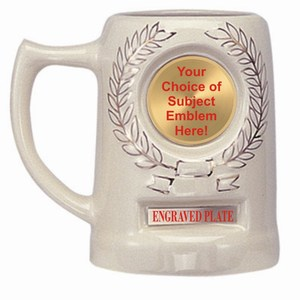 Emblem Mugs, Custom Engraved With Your Logo!