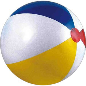 Custom Printed Many Color Alternating Color Beach Balls