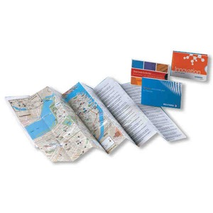 Maps, Custom Imprinted With Your Logo!