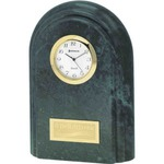 Custom Imprinted Marble Clocks