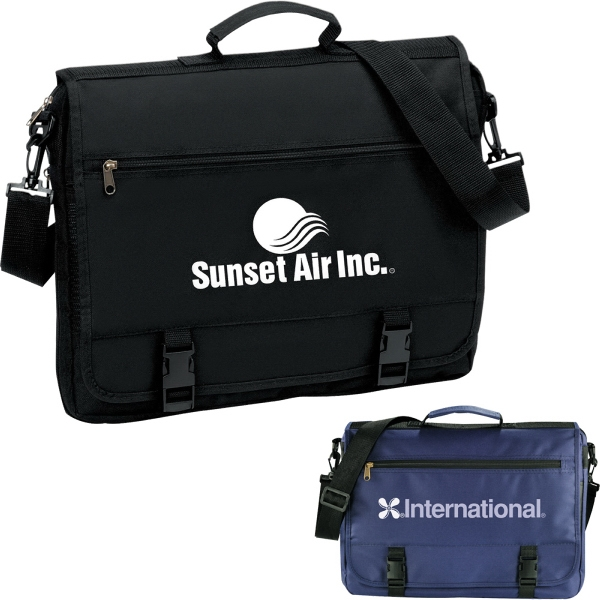 Custom Printed 1 Day Service Organizer Briefcases
