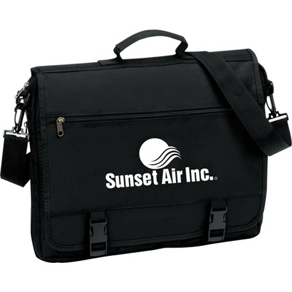 1 Day Service Briefcases with Expanding Compartments, Personalized With Your Logo!
