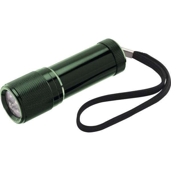 1 Day Service 9 LED Flashlights, Custom Printed With Your Logo!