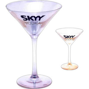 Custom Printed Martini Glasses