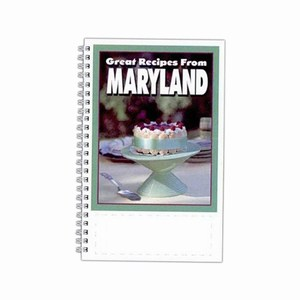 Custom Printed Maryland State Cookbooks