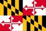 Custom Printed Maryland State Flags