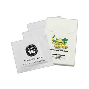 Match Box Style Insect Repellent Wipes, Custom Made With Your Logo!