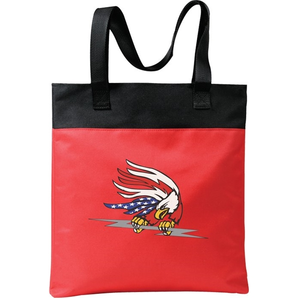 Canadian Manufactured Meeting Tote Bags, Customized With Your Logo!